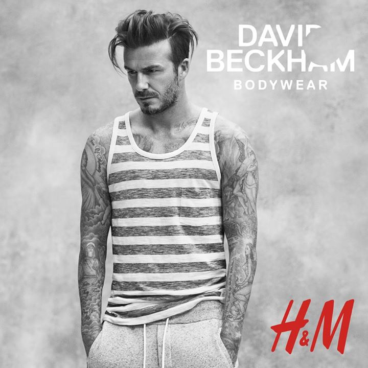 david beckham roule pour h m the cherryship. Black Bedroom Furniture Sets. Home Design Ideas